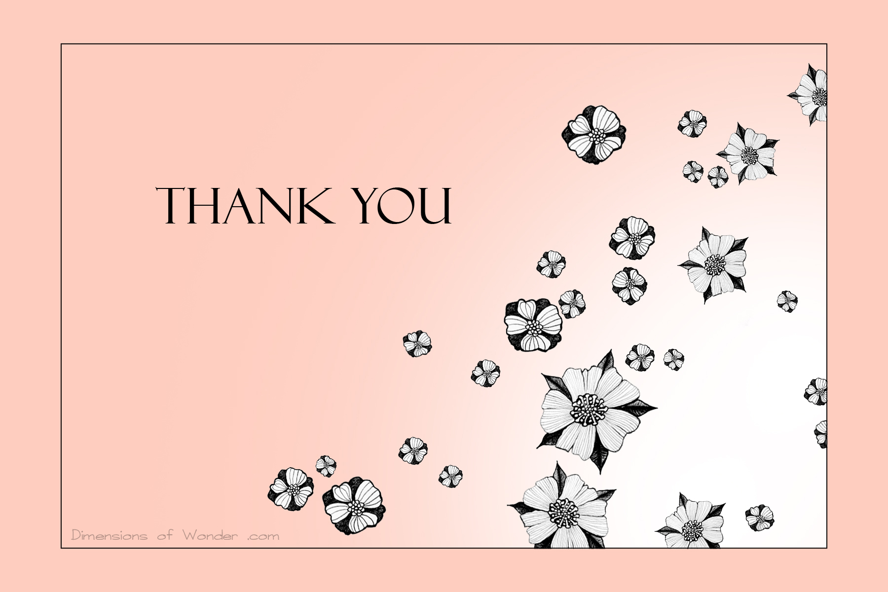 Free Printable Thank You Cards nº2