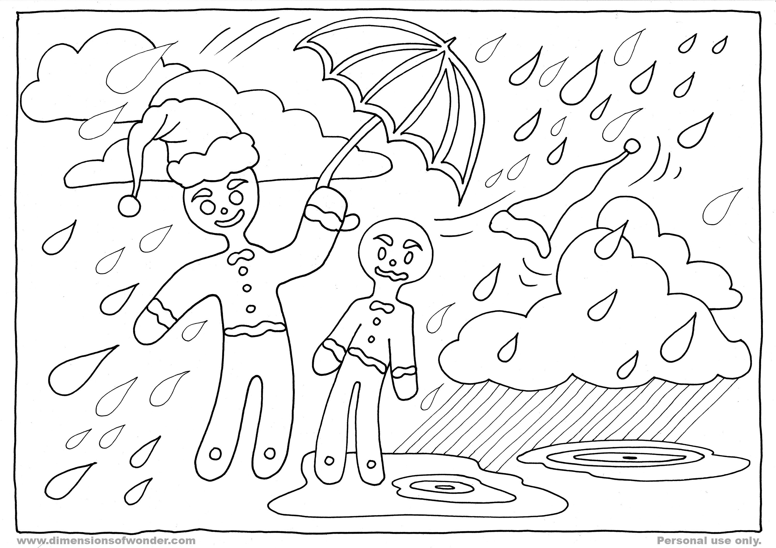 Stunning Gingerbread Man Coloring Pages Ideas