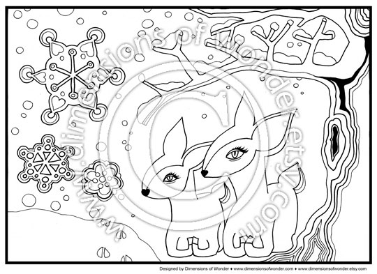 Christmas Coloring Pages Printables
