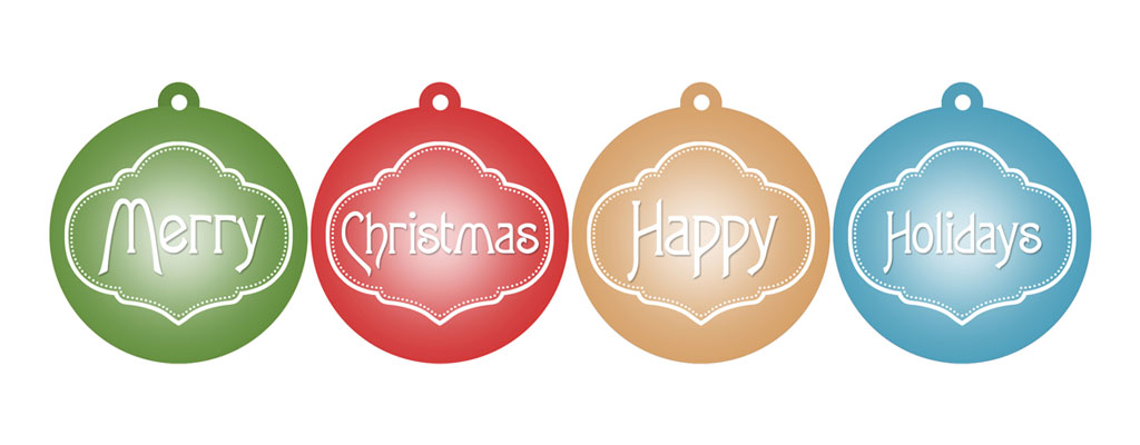 Printable Christmas Ornaments in Red, Blue, Green & Gold – Free.