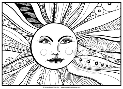 free printable sun coloring pages sun coloring page printable dimensions of - Sunshine Coloring Pages Printable