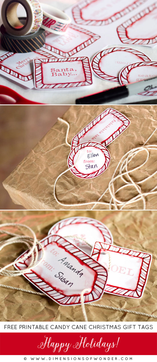 Christmas tags free printable candy cane borders dimensions of printable christmas labels tags free candy cane eng negle Gallery