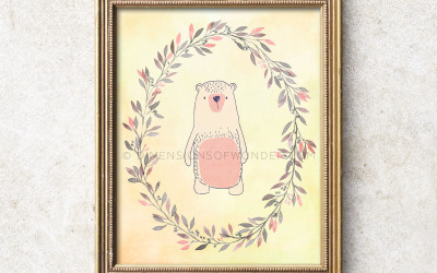 Little Bear Printable Art